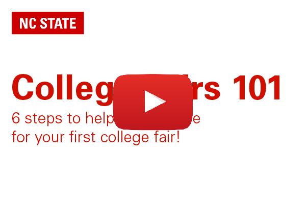 College Fairs 101 Youtube