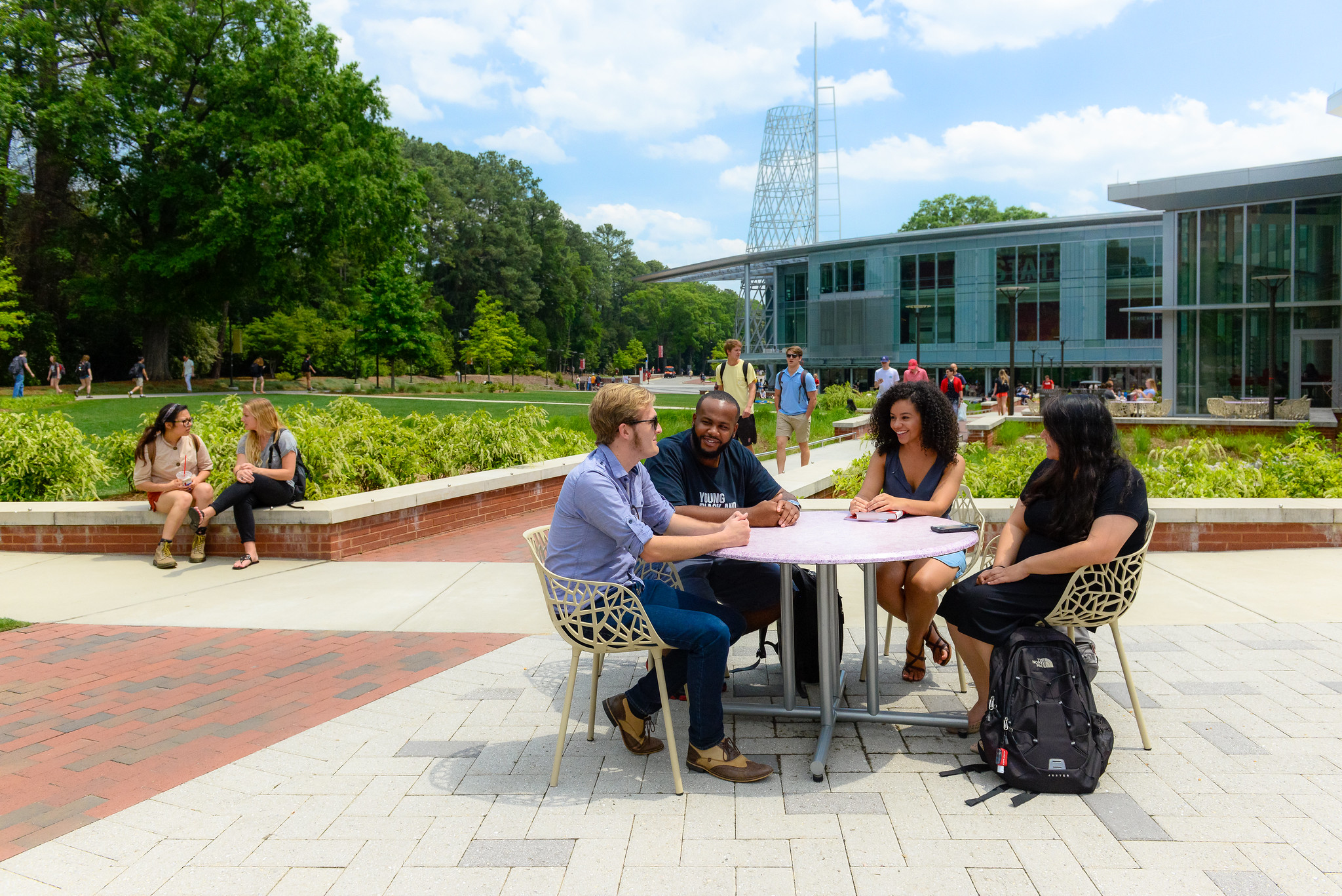 Students at Talley Student Union