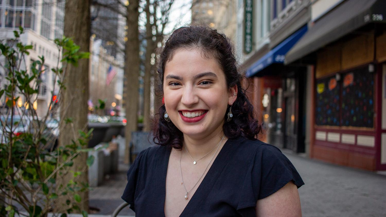 A photo of Goodnight Scholar Carmen Bollman '21.