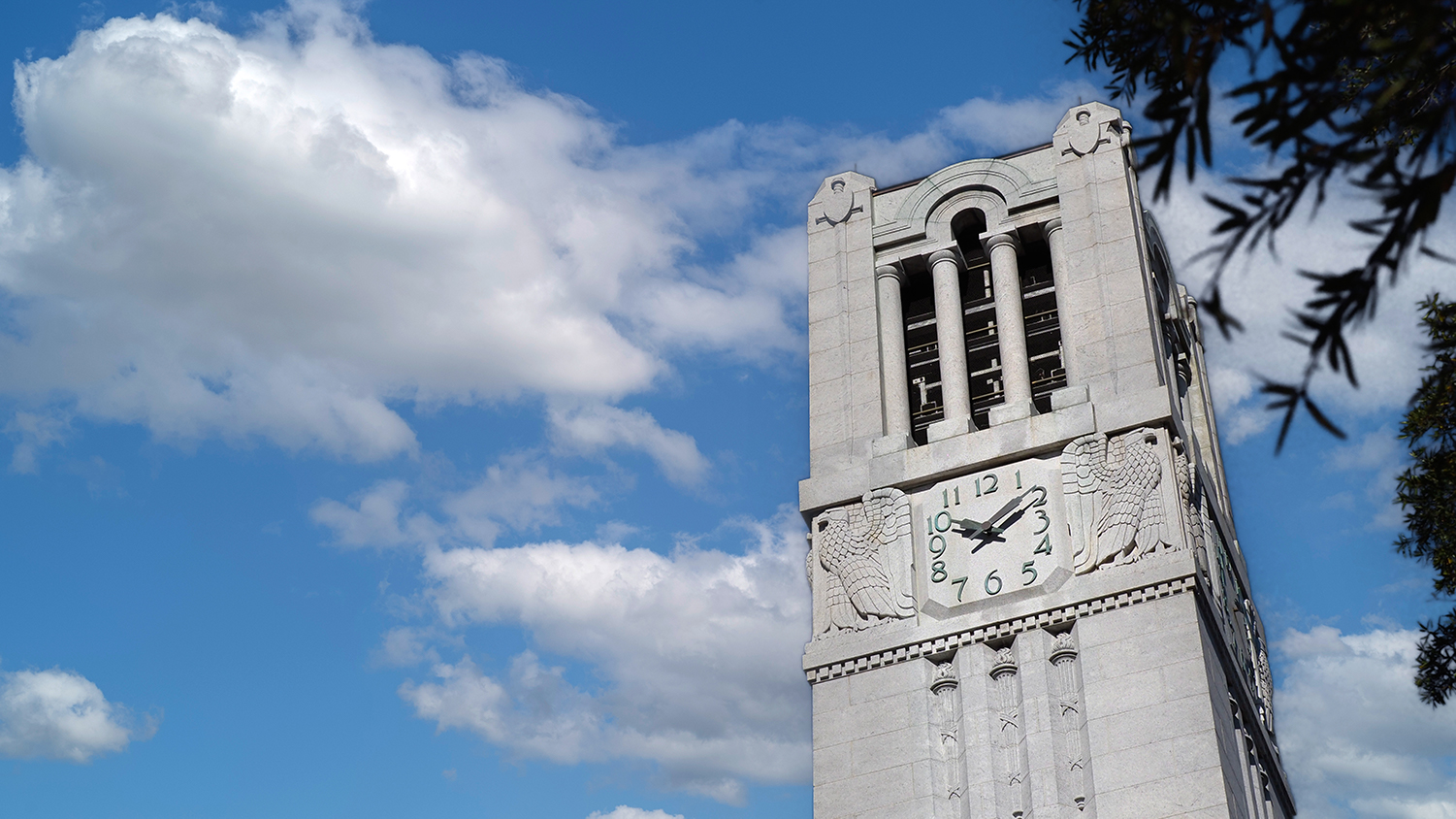 Memorial Belltower on NCState campus