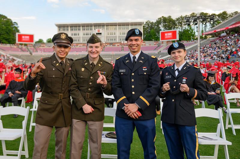 Military graduates in 2021