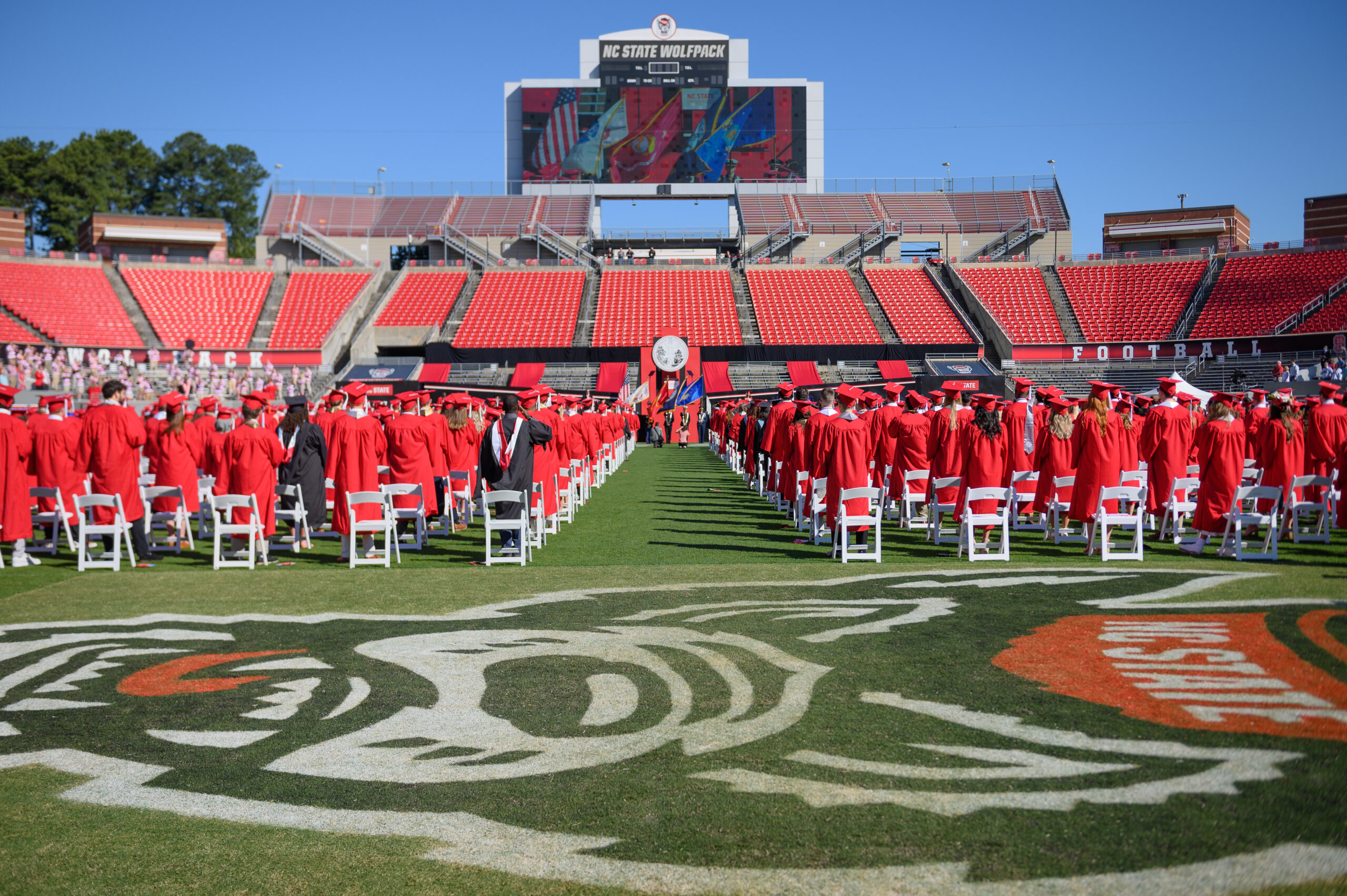 2021 Commencement at Carter Finley