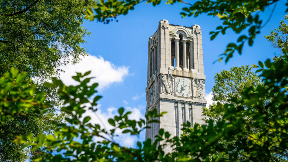 NC State Bell Tower